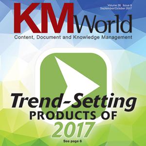 KMWorld Trend-Setting Product for 2017